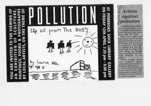 Artists against Pollution
