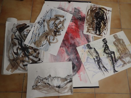 last mondays life drawings