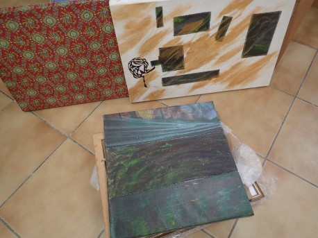 re-arranged canvases